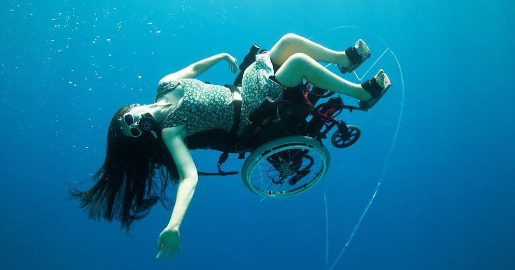 La plongée sous-marine… en fauteuil roulant