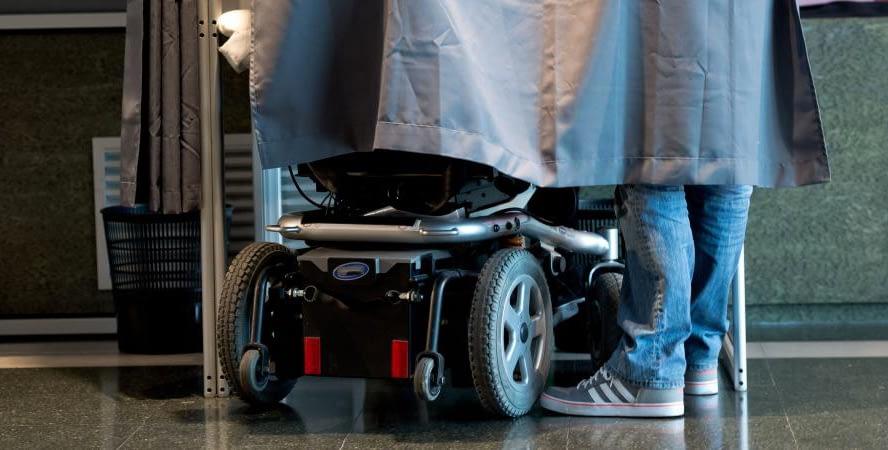 eVoting · Un avantage pour les personnes en situation de handicap